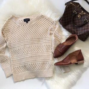 AEO open weave sweater